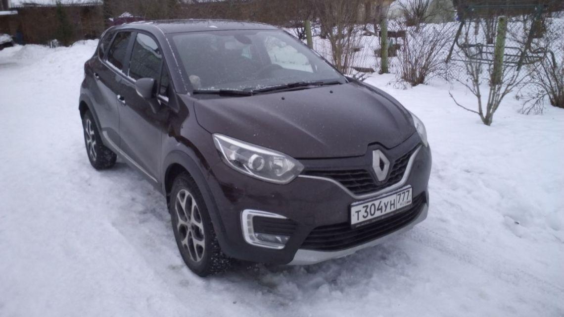 Отзыв владельца о Renault Kaptur 2016 г.в.