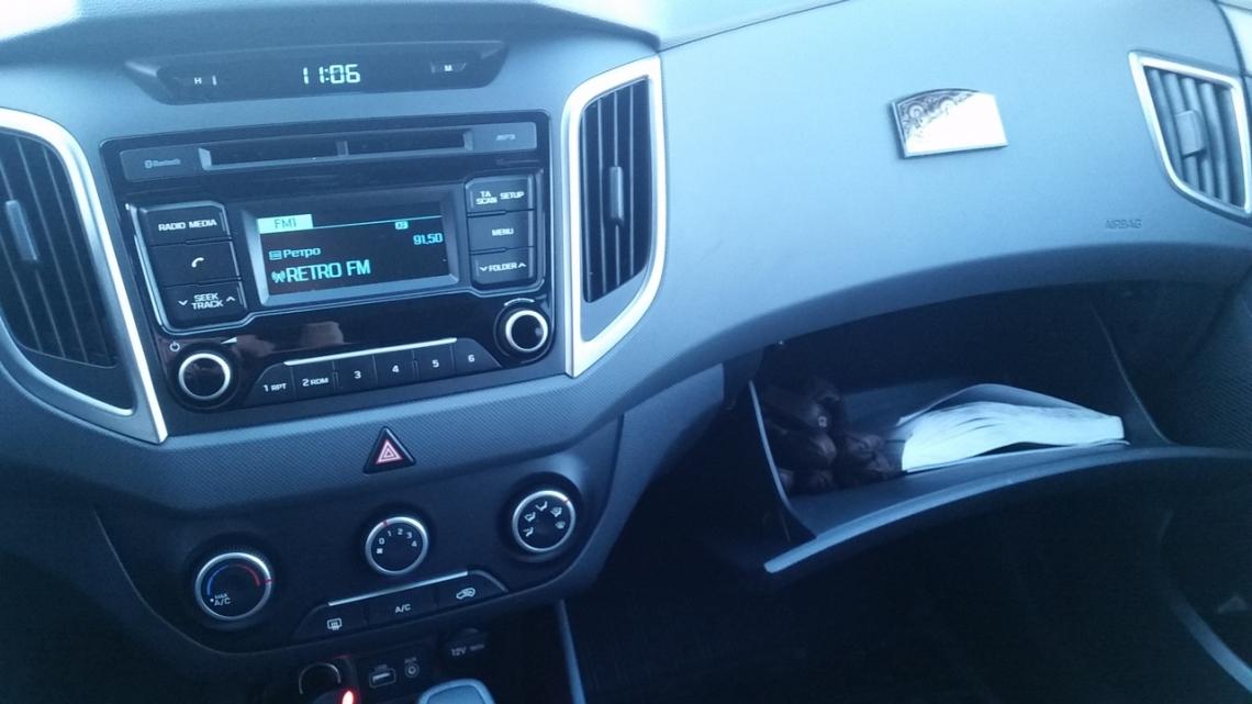 Отзыв владельца о Hyundai Creta 2016 г.в.