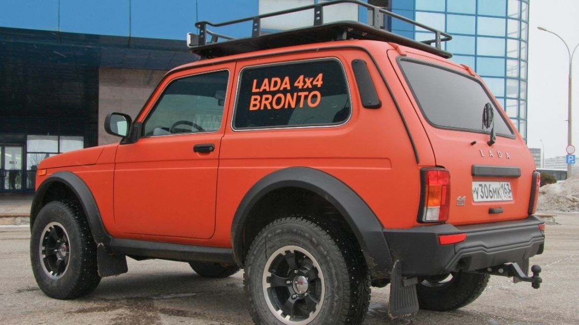 Новый вездеход на базе LADA 4х4