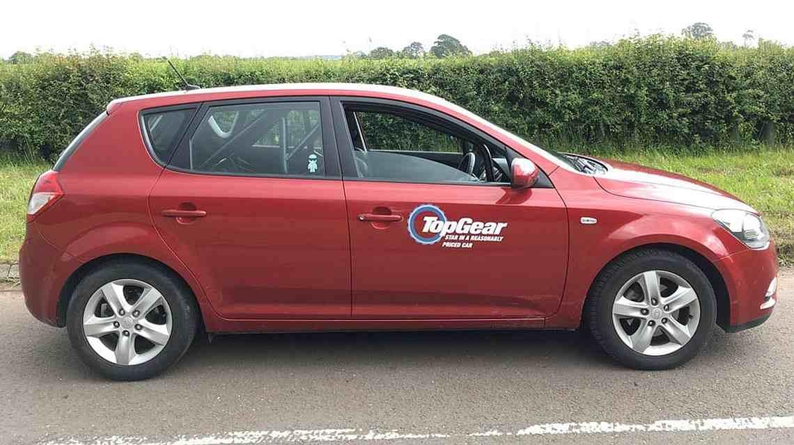 Kia Cee'd из Top Gear выставили на продажу