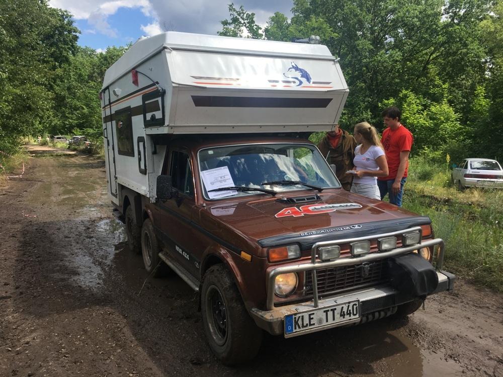В Россию приехала уникальная «Нива»