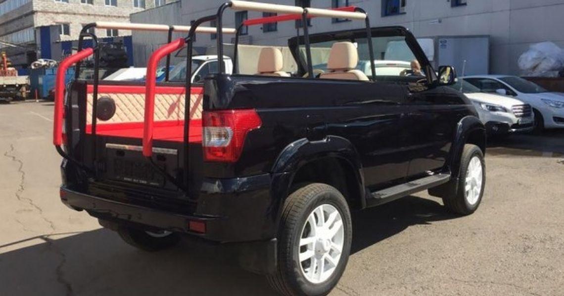 Из УАЗ «Патриот» сделают кабриолет