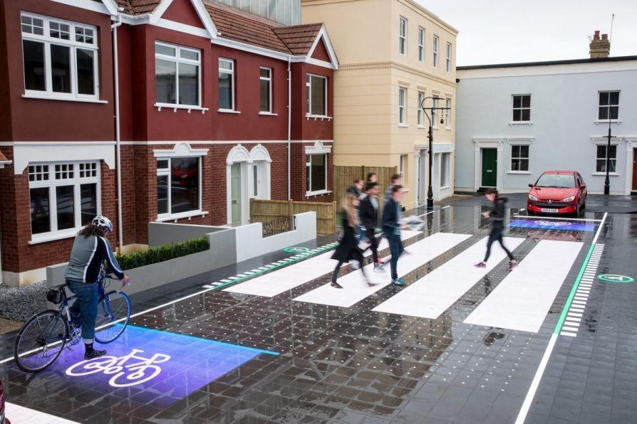 В Лондоне создали «умный» пешеходный переход