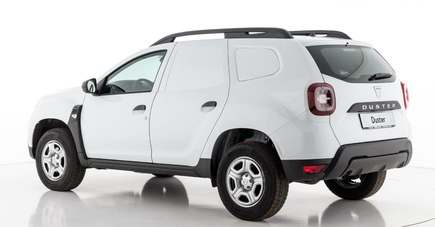 Renault выпустила фургон на базе пассажирского Дастера