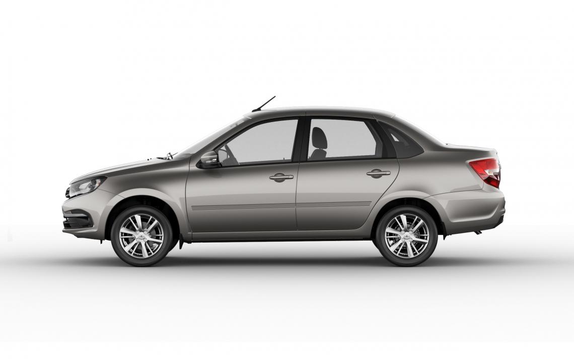 LADA рассекретила дизайн рестайлингового седана Granta