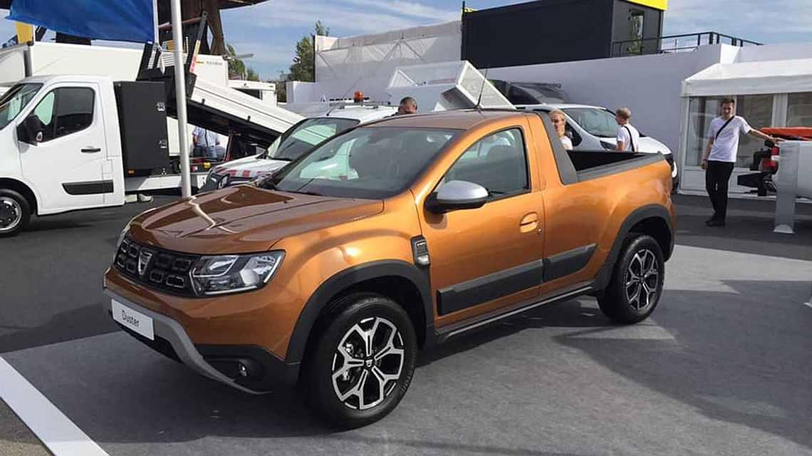 Пойдёт в серию: Renault определила место сборки пикапа Duster