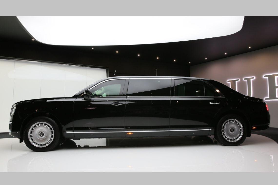Aurus готовит «бюджетный лимузин» Senat. Первые фото